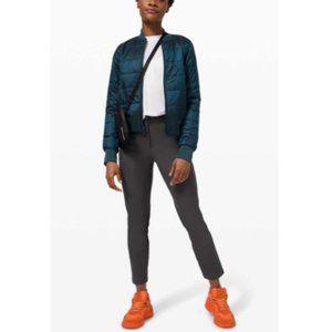 LULULEMON City Sleek 5 Pocket 7/8 Pant Graphite Grey size 2